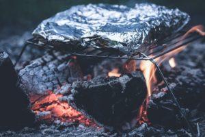 poisson en papillote au barbecue